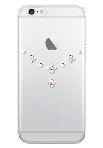 「iPhone 6」「iPhone 6 Plus」対応 ハードカバー Shiny Rose