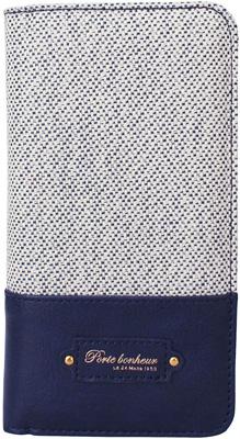 iPhone 6s用 キャンバスブックタイプケース / ブルー