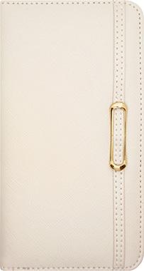iPhone SE(第2世代)用 ベルトブックタイプケース / ホワイト